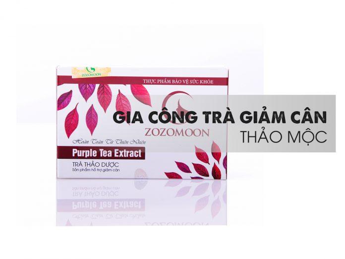 Gia công trà giảm cân